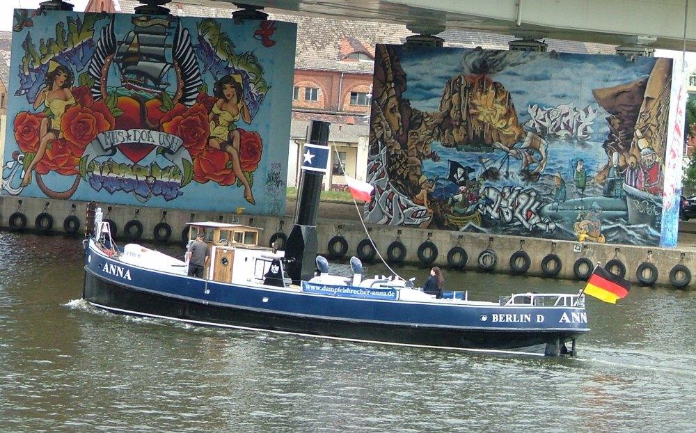 Willkommen auf der Oder in Szczecin