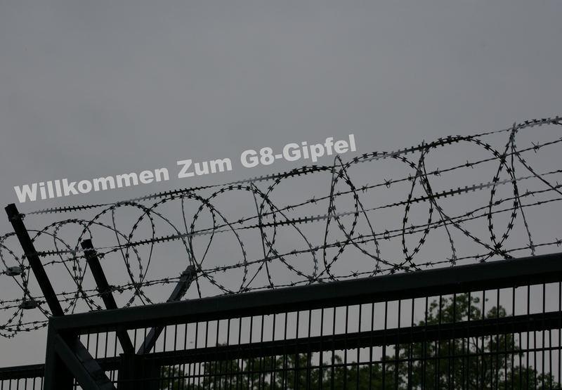 Willkommen Zum G8-Gipfel