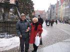 Wilma und Karl-Heinz in Danzig