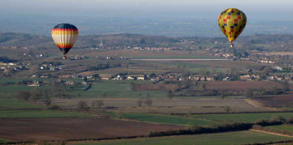 Wiltshire from above
