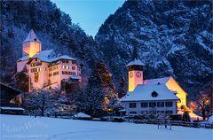 Wimmiser Schloss in Weihnachtsstimmung