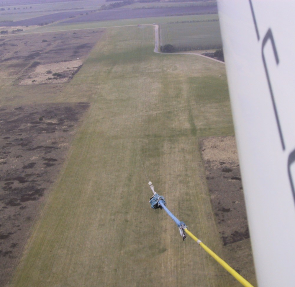 Winch launch - From the top