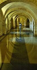 Winchester Krypta der Kathedrale