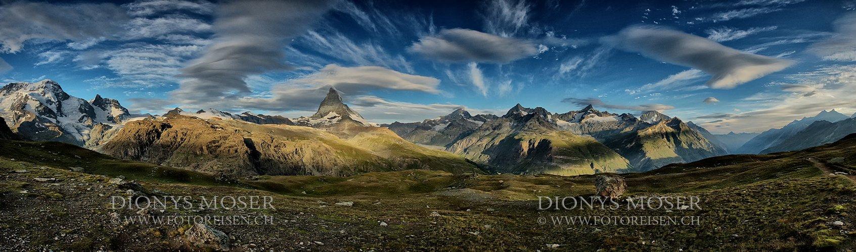 Wind am Matterhorn