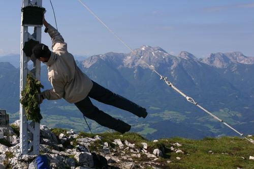wind in den bergen