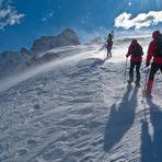 Wind in Dolomites