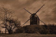 Wind und Mühle