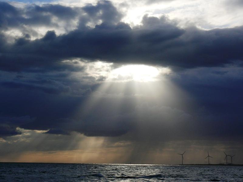 Wind, Wasser und Sonnenenergie