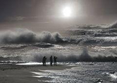Wind Wellen Weststrand