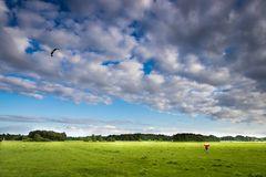 Wind, Wolken und frische Luft