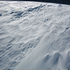 windgepresster schnee