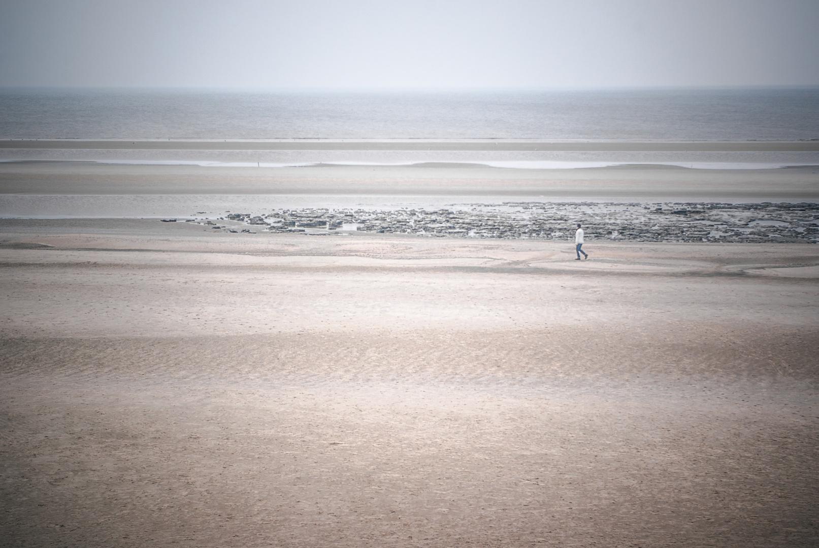 Windiger Strandspaziergang IV