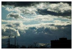 Windiges Wolkenspiel