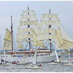 "-- Windjammerparade ( 2 ) -- 28.6. Kieler Woche 2014 ""Sea Cloud u. die kleinen Bewunderer"""