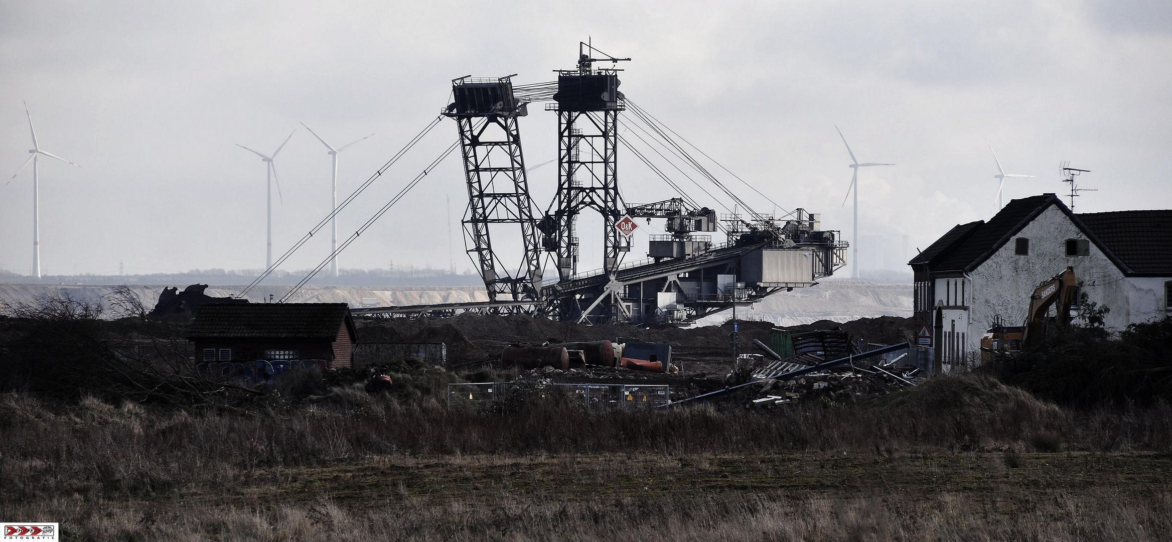 Windkraft vs. Kohleverstromung