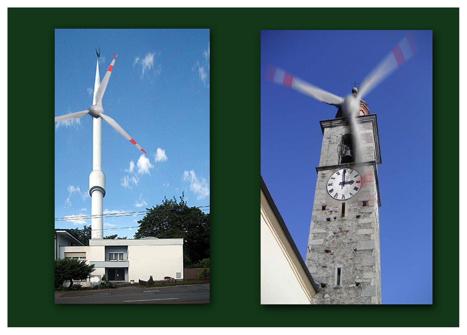 Windkraftwerke ;-)