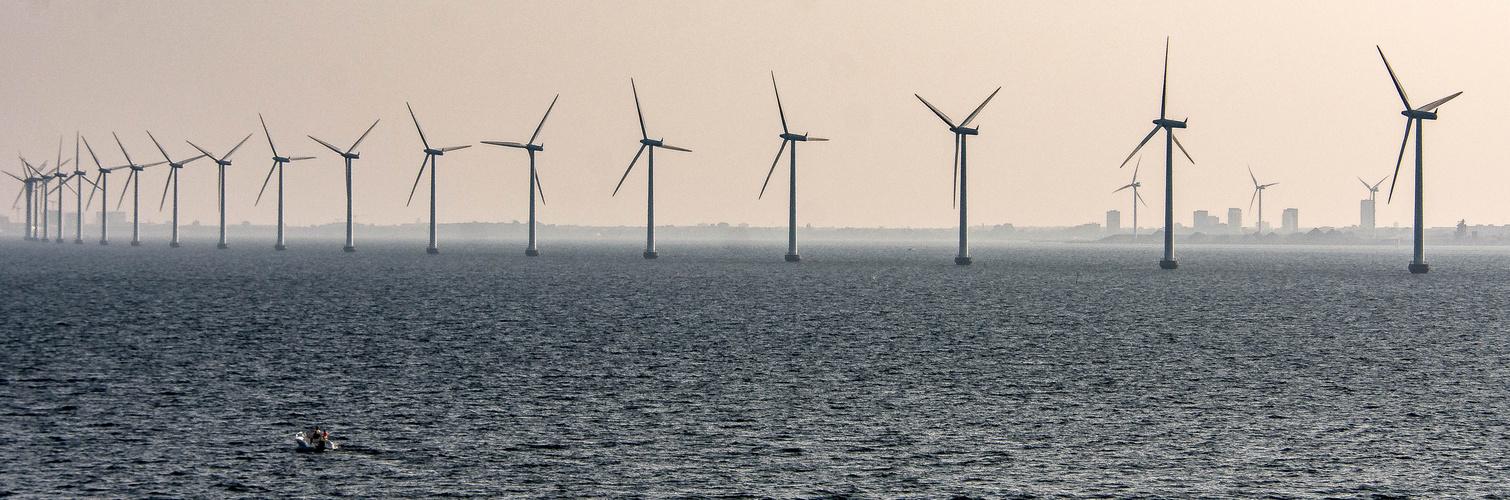 Windkraftwerke vor Kopenhagen