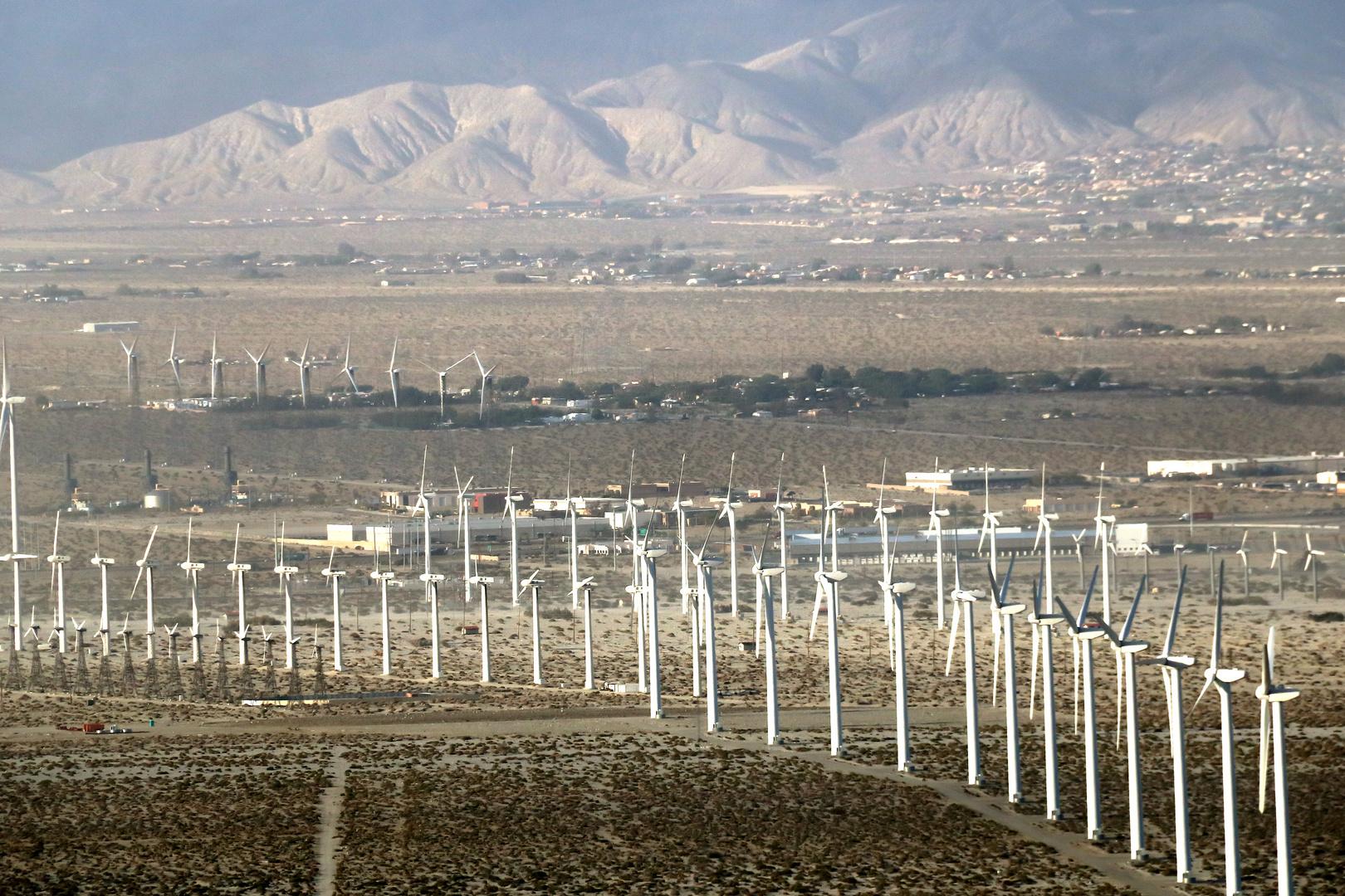 Windmills in Palm Springs