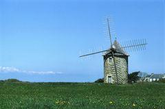Windmühle am Cap Sizun - Finistere (Bretagne)