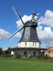 Windmühle auf der Insel Föhr