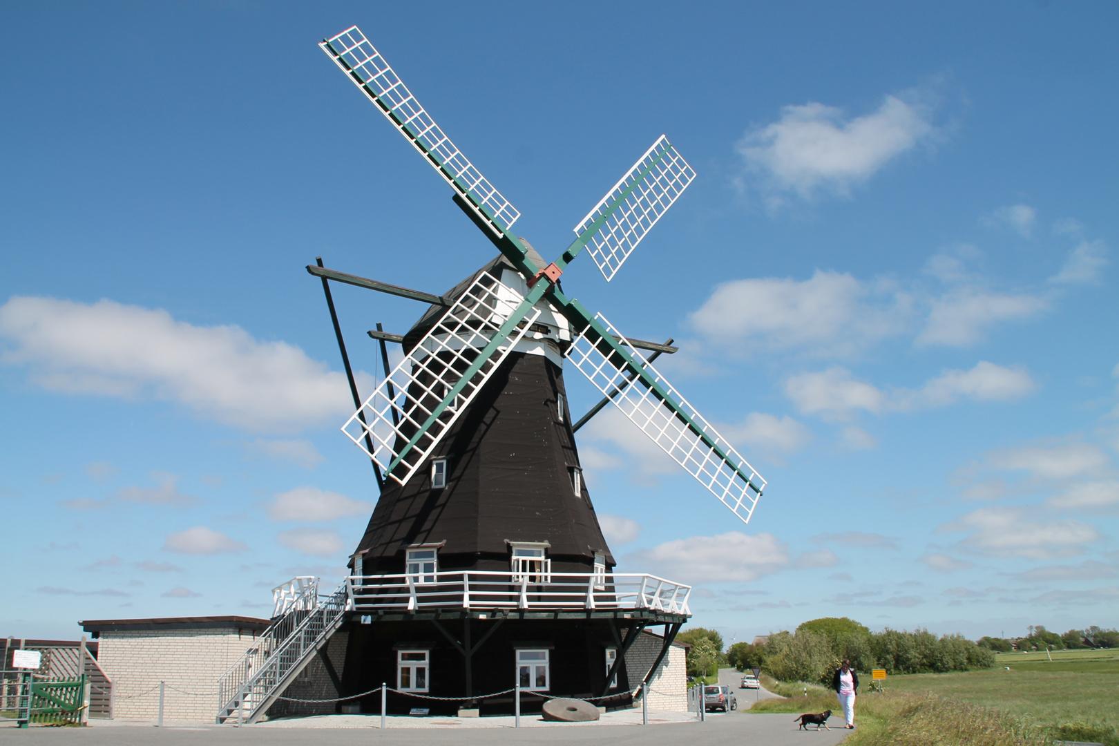 Windmühle auf Pellworm