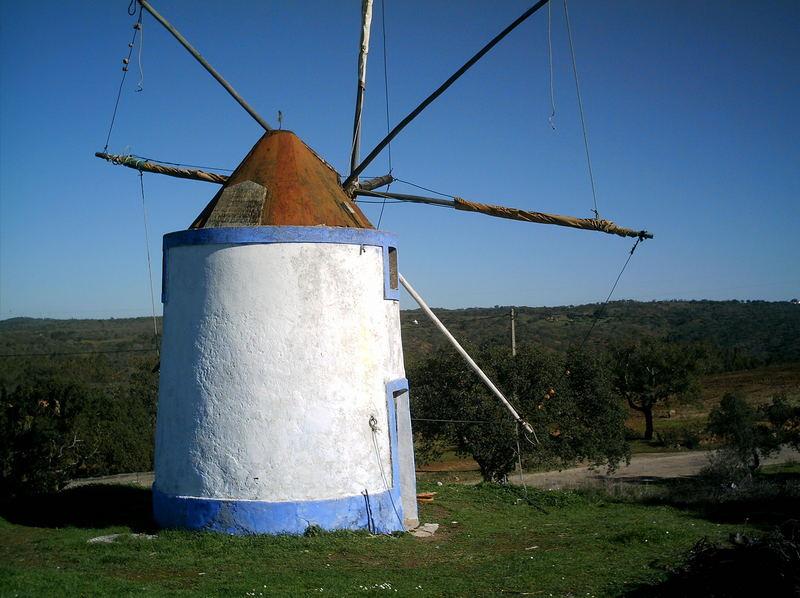 Windmühle im Alentejo