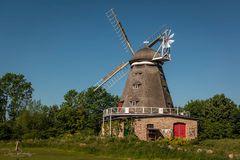 Windmühle im Zoo Stralsund