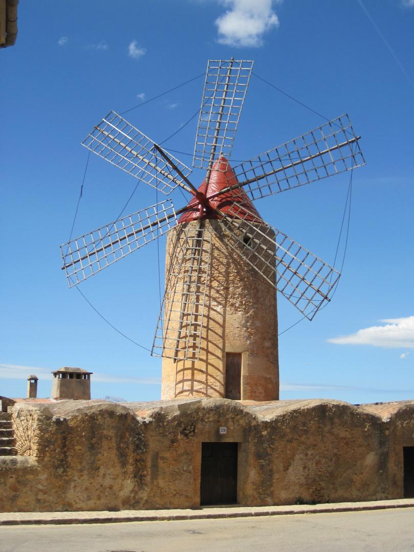 Windmühle in Algaida