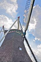 Windmühle in Denekamp, Holland