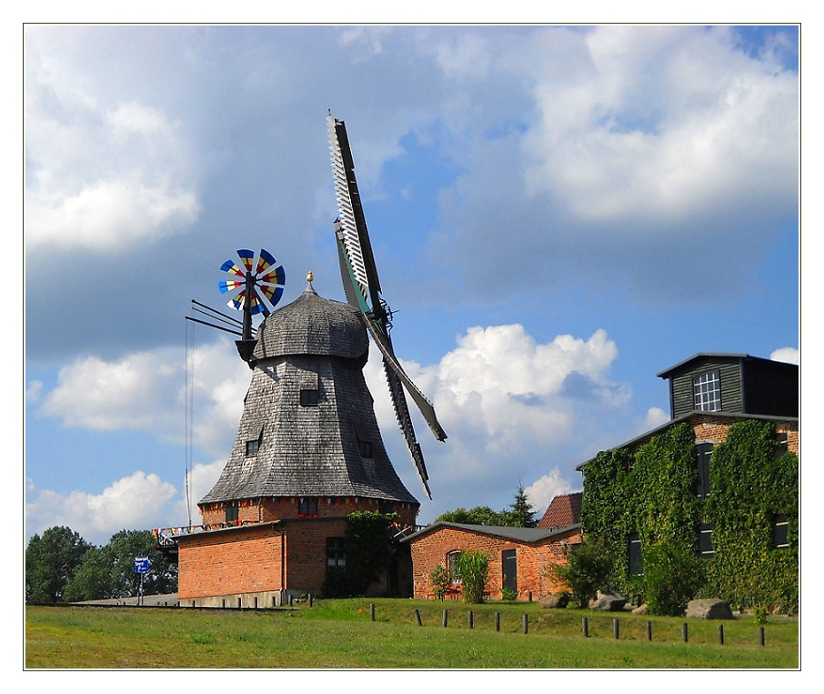 Windmühle in Malchow
