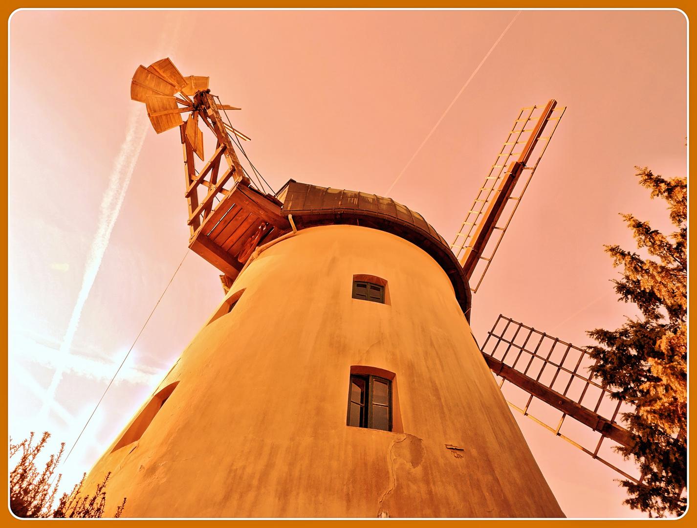 Windmühle in Tündern