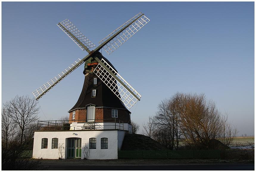 Windmühle oder Wohnmühle
