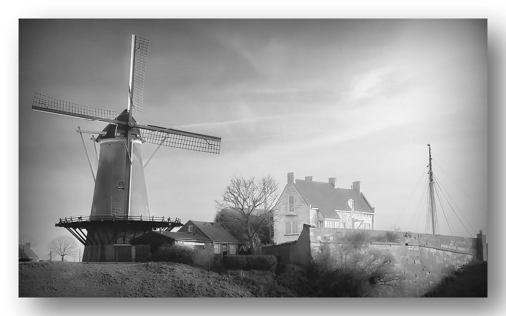 Windmühle SW Zeeland