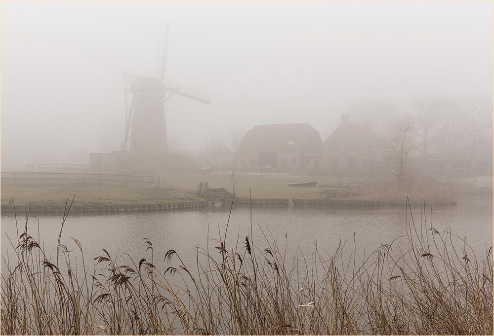 Windmühle von Schoondijke ...