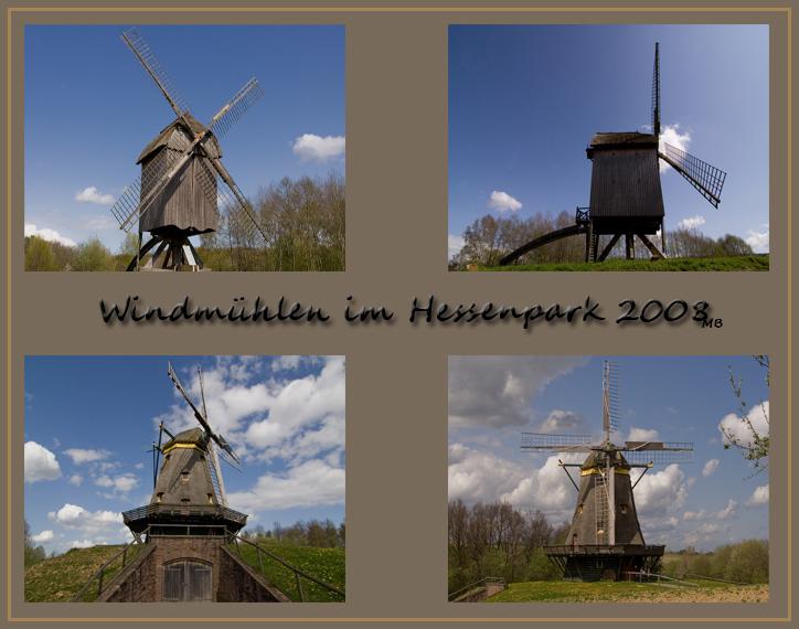 Windmühlen im Hessenpark