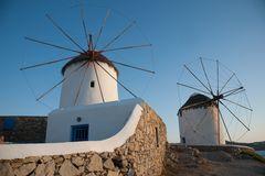 Windmühlen im Ruhestand ...