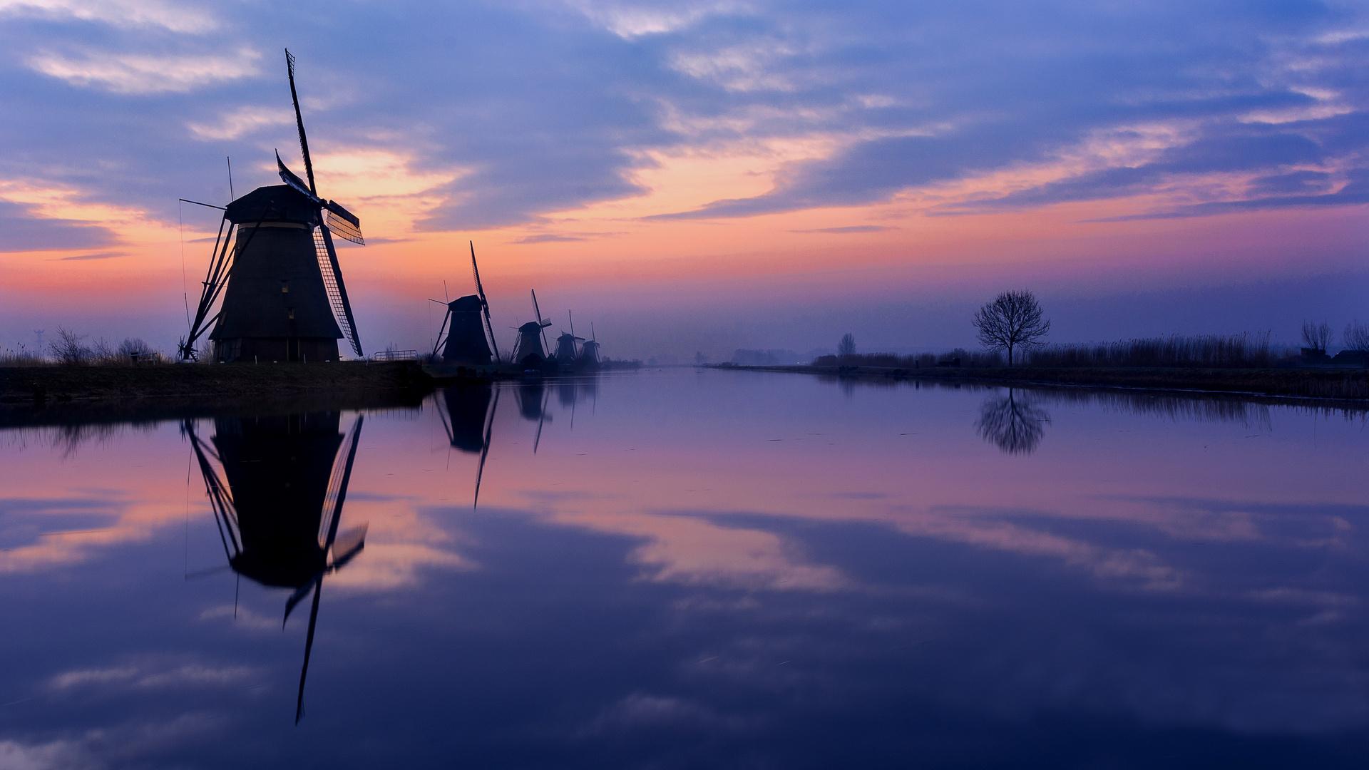 Windmühlen in Kinderdijk II