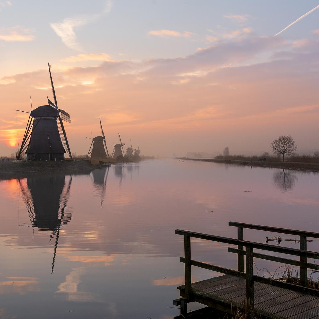 Windmühlen in Kinderdijk III