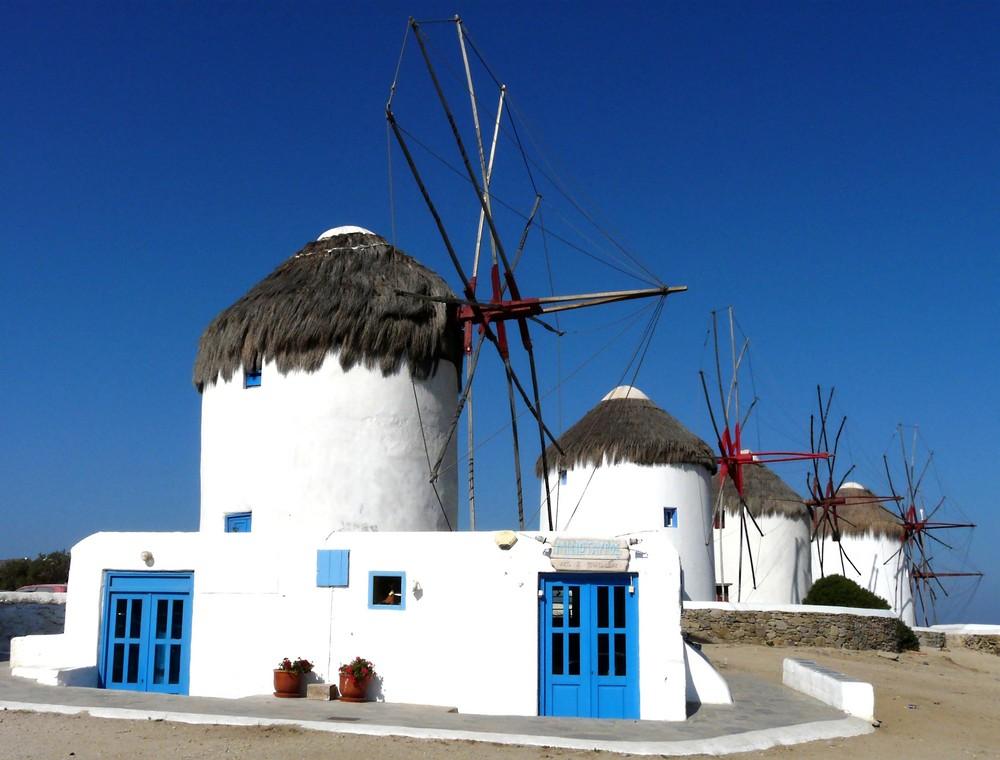 Windmühlen von Chora (Mykonos)