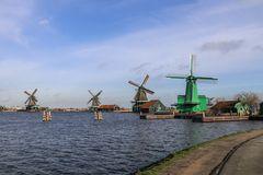 Windmühlen -- Zaanse Schans