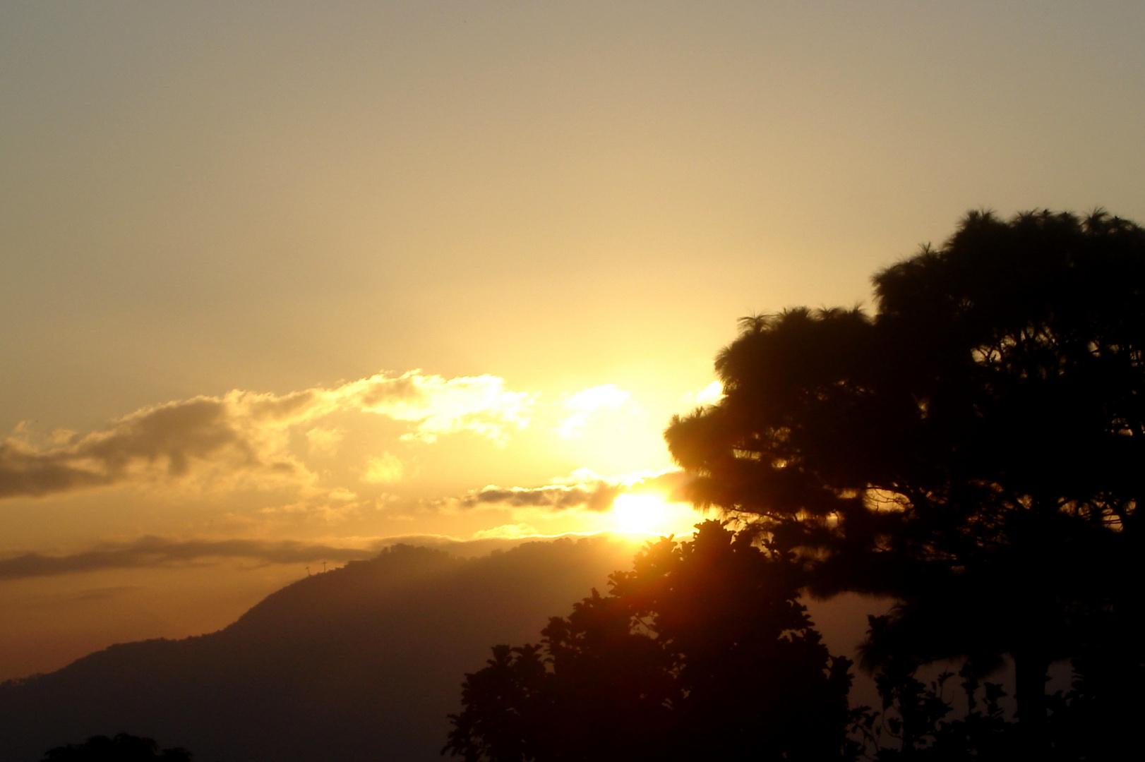 Window Sunset 1
