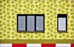* Windows mit Vögeln *