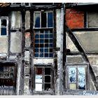 windows on facade