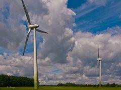 Windpark bei Höfen