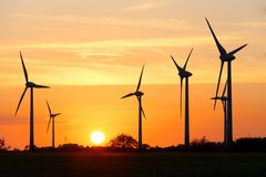 Windräder bei Hage / Ostfriesland