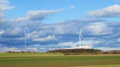 Windräder bei Mindorf