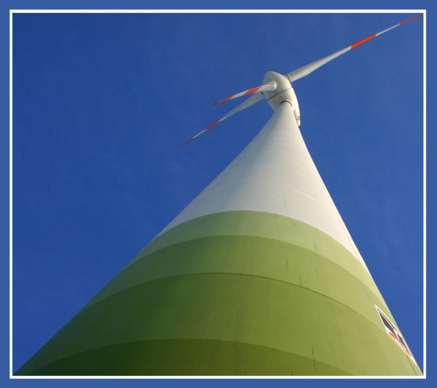 Windräder machen den Wind !