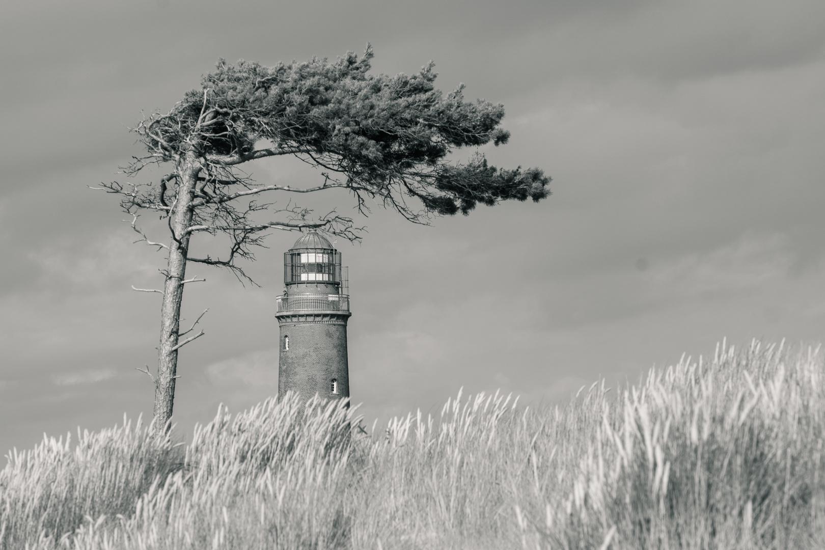 Windschutz für einen Leuchtturm?