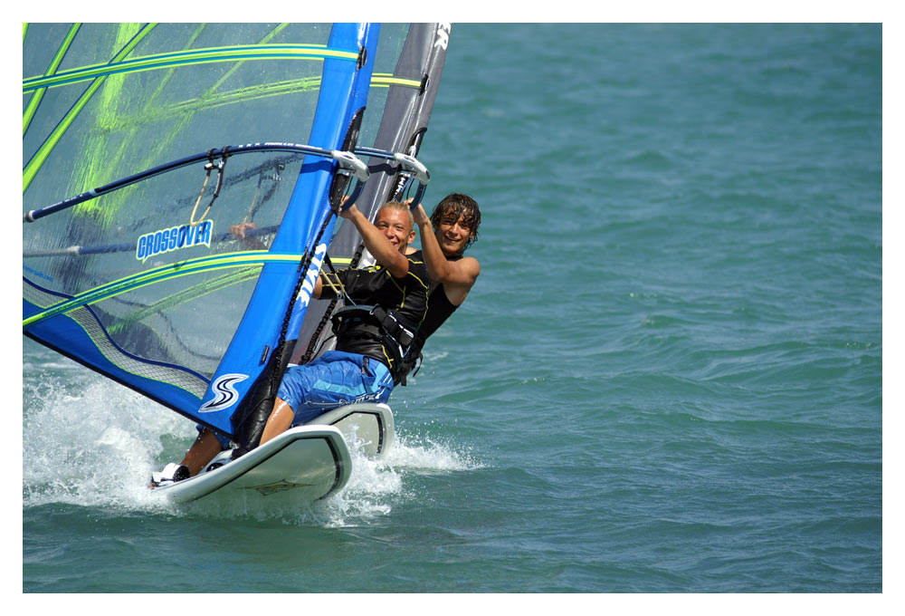 Windsurfen in Alacati (2)
