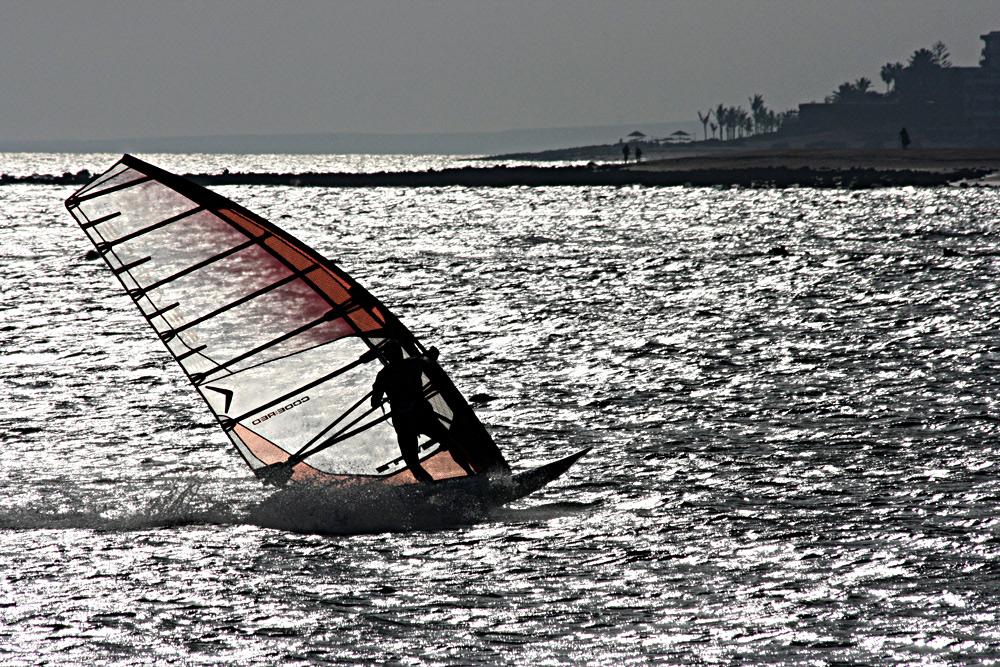 """""""Windsurfer"""" auf Lanzarote in Action!!!"""